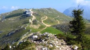 Bergstation Seilbahn Montebaldo