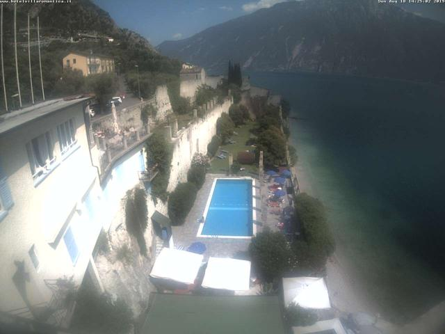 Webcam Limone, Hotel Villa Romantica
