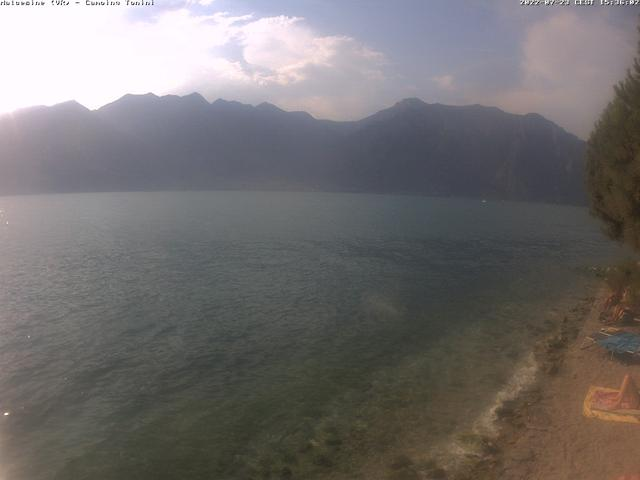 Webcam Malcesine, Camping Tonini