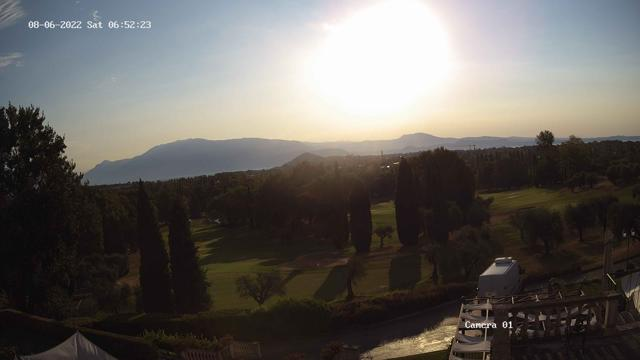 Webcam Soiano del Lago, Gardagolf Country Club