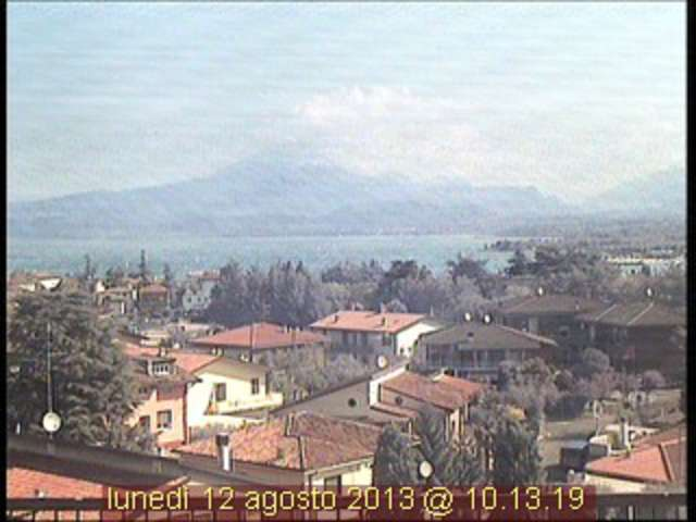 Webcam Peschiera, Green Park Hotel